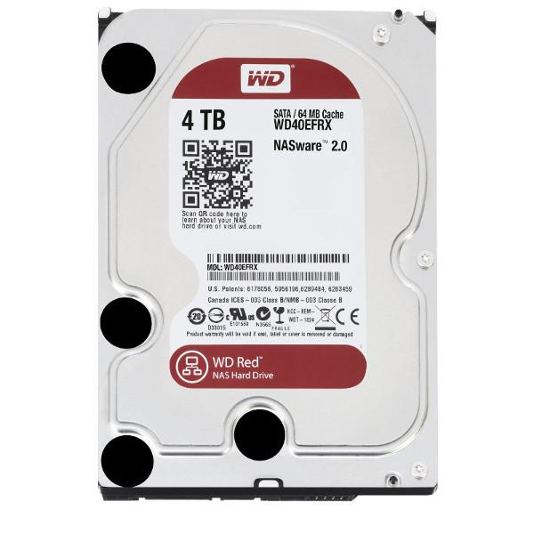 Western Digital dysk HDD WD RED 4TB WD40EFRX SATA III - Dyski sieciowe