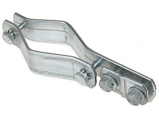 Obejma zaciskowa do instalacji odgromowej LC-JK-50 - Akcesoria montażowe