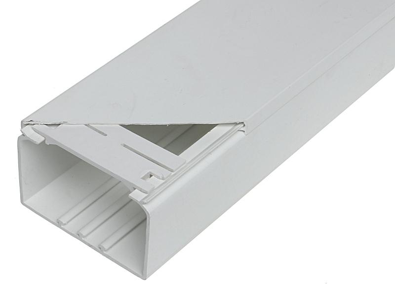 Koryto kablowe proste LC-KKP-90X60/2M - Akcesoria montażowe