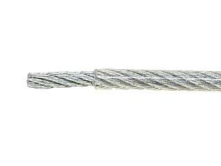 Linka stalowa LC-LS-4/200/PVC  - 200 m - Akcesoria montażowe