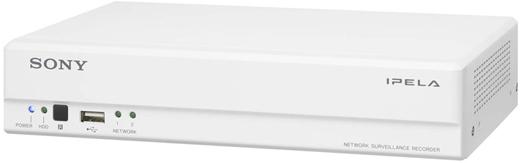 NSR-S10 Sony - Rejestratory sieciowe ip