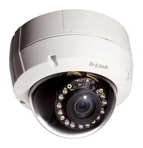 D-Link DCS-6511 - Kamery kopułkowe IP