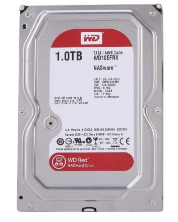 Western Digital dysk HDD WD RED 1TB 3.5 cala WD10EFRX SATA III - Dyski sieciowe