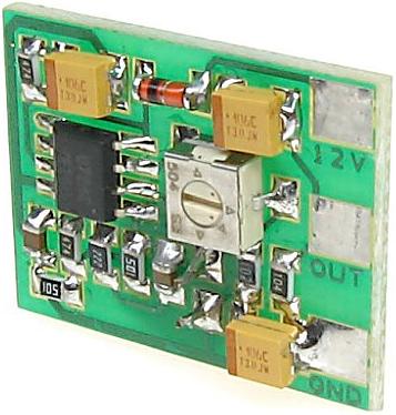 MP-2/R - regulowany moduł fonii - Moduły fonii