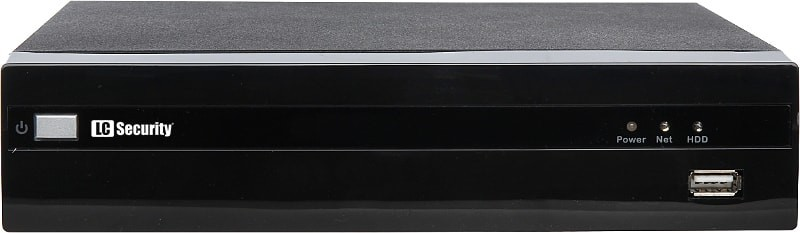 LC-2400-NVR - Rejestrator IP 4-kanałowy - Rejestratory sieciowe ip