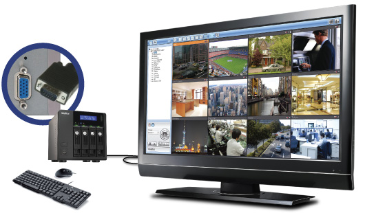QNAP VS-4012Pro - Rejestratory sieciowe ip