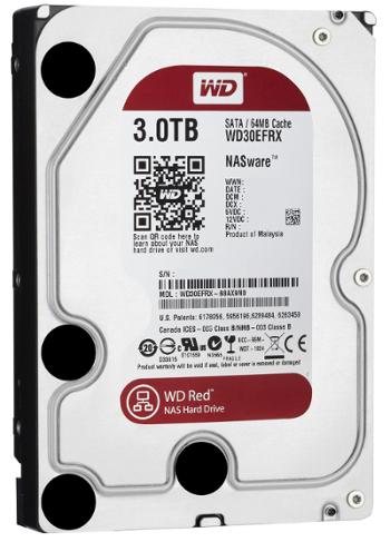 Western Digital dysk HDD WD RED 3TB WD30EFRX SATA III - Dyski sieciowe