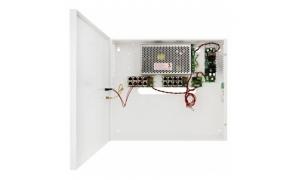 POE0848C - Zasilacz PoE 48V/2,6A/2x17Ah do 8 kamer IP